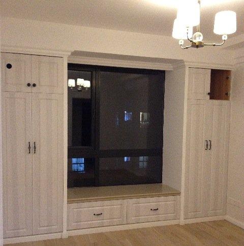 更新至 榻榻米 地台 内部结构 ,飘窗两边 衣柜结构 更新至 榻榻米 地台