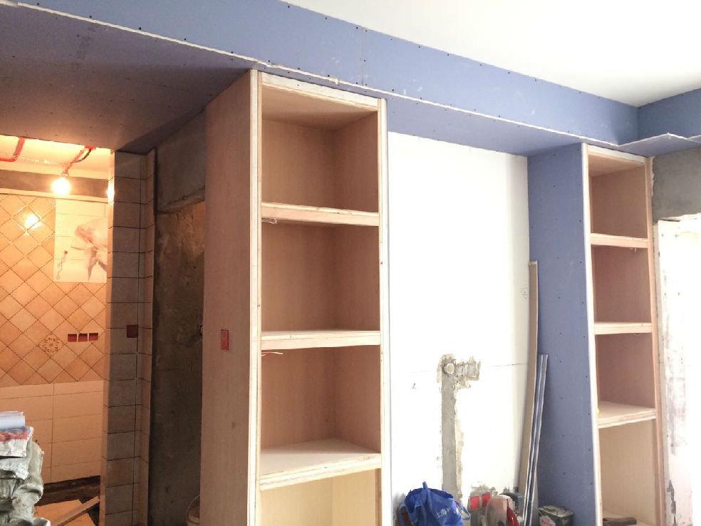 木工做的电视柜