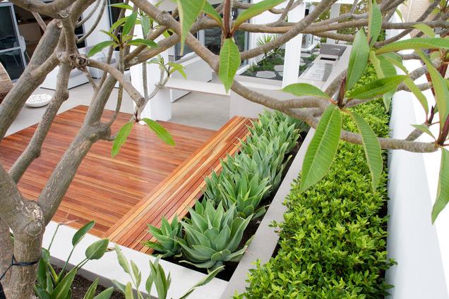 阳光房花坛设计