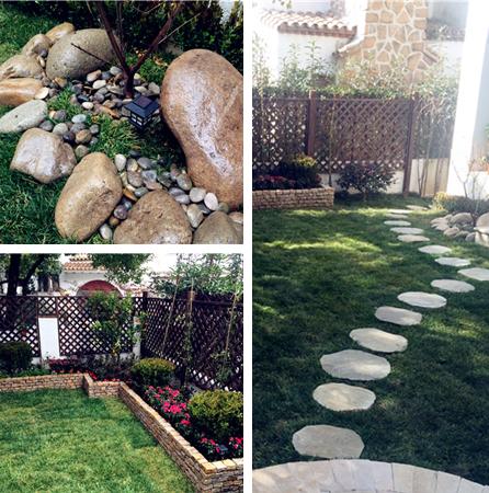 花园】经典欧式小花园设计施工