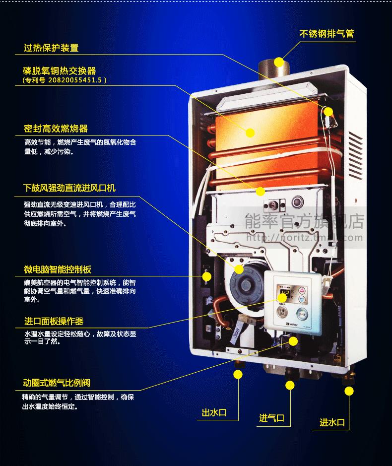 能率燃气热水器介绍