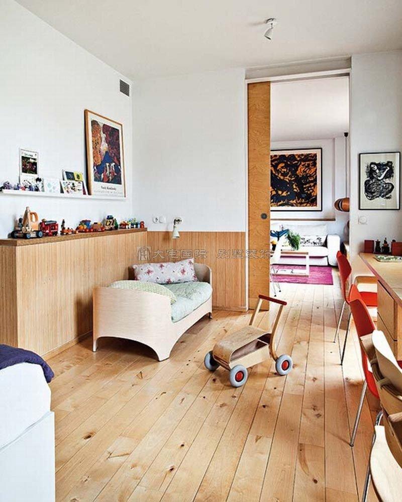 北欧现代简约风格公寓 装修日记 篱笆网 - 年轻家庭