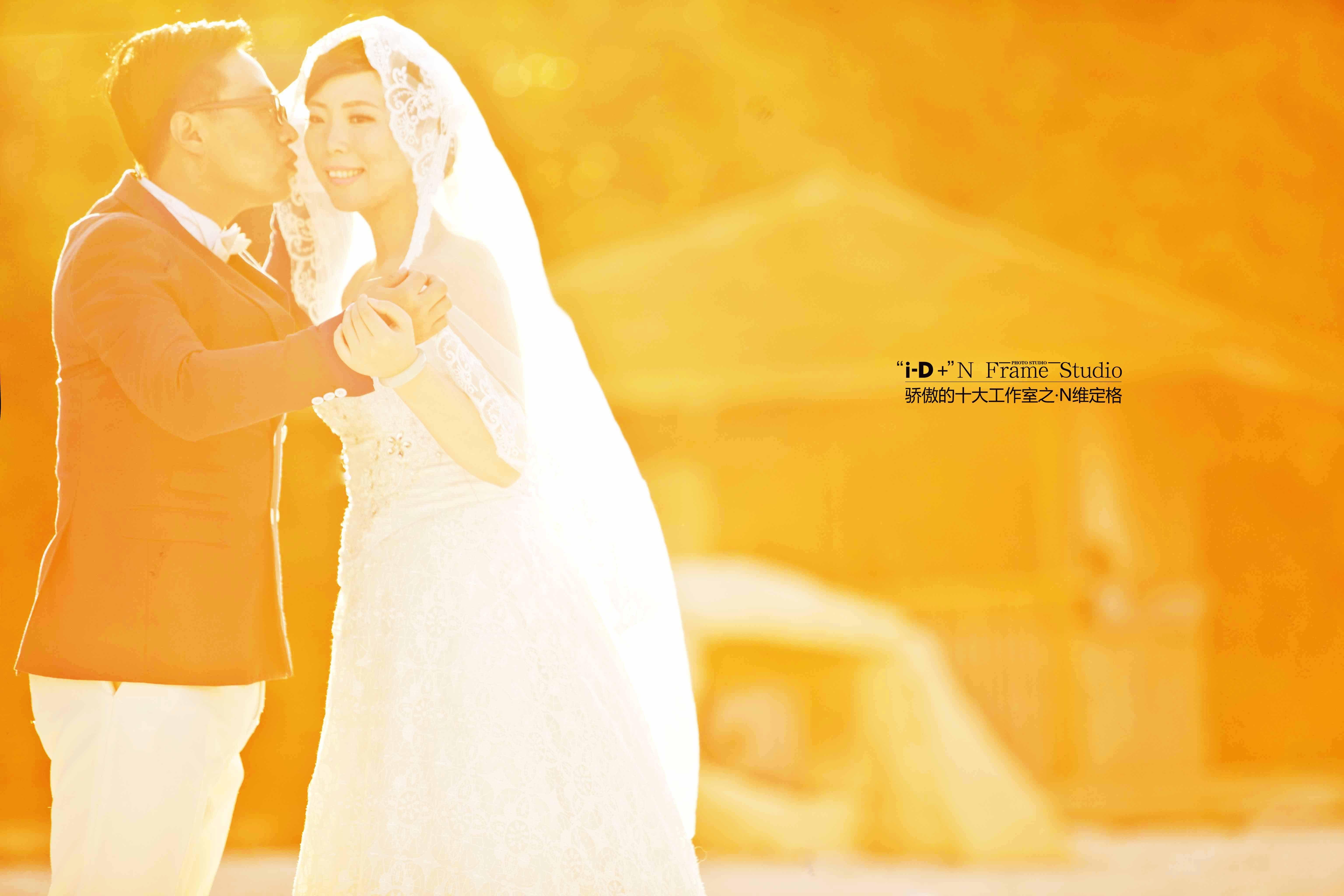 id摄影婚纱照 结婚日记