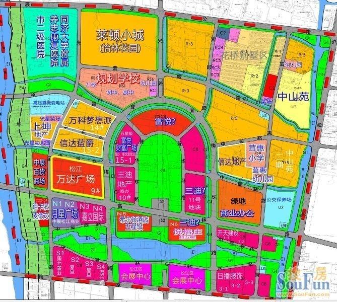 开个帖子专门讨论松江大学城附近的房子和配套
