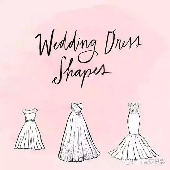 初学者婚纱设计手绘图分享展示
