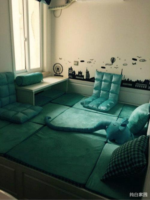 小房间的地台+大衣柜登场啦