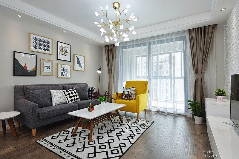 室内设计 > 清爽简约的北欧风