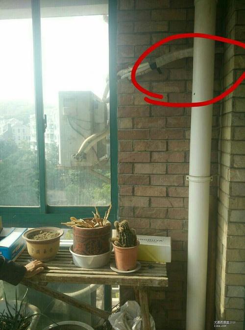 求招,阳台水管如何包图片